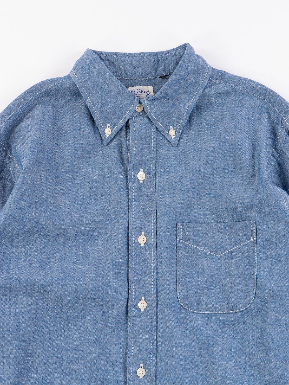 Blue Chambray BD Shirt - Image 1