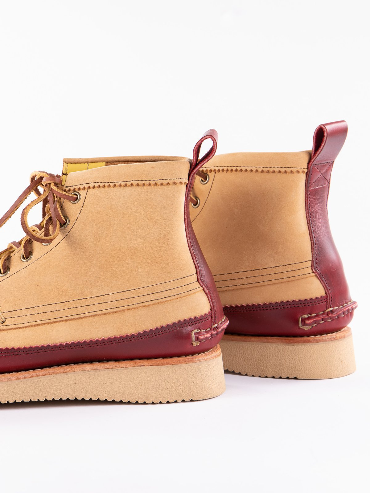 DB Brown x C Red Maine Guide 6 Eye DB Boot Exclusive - Image 4