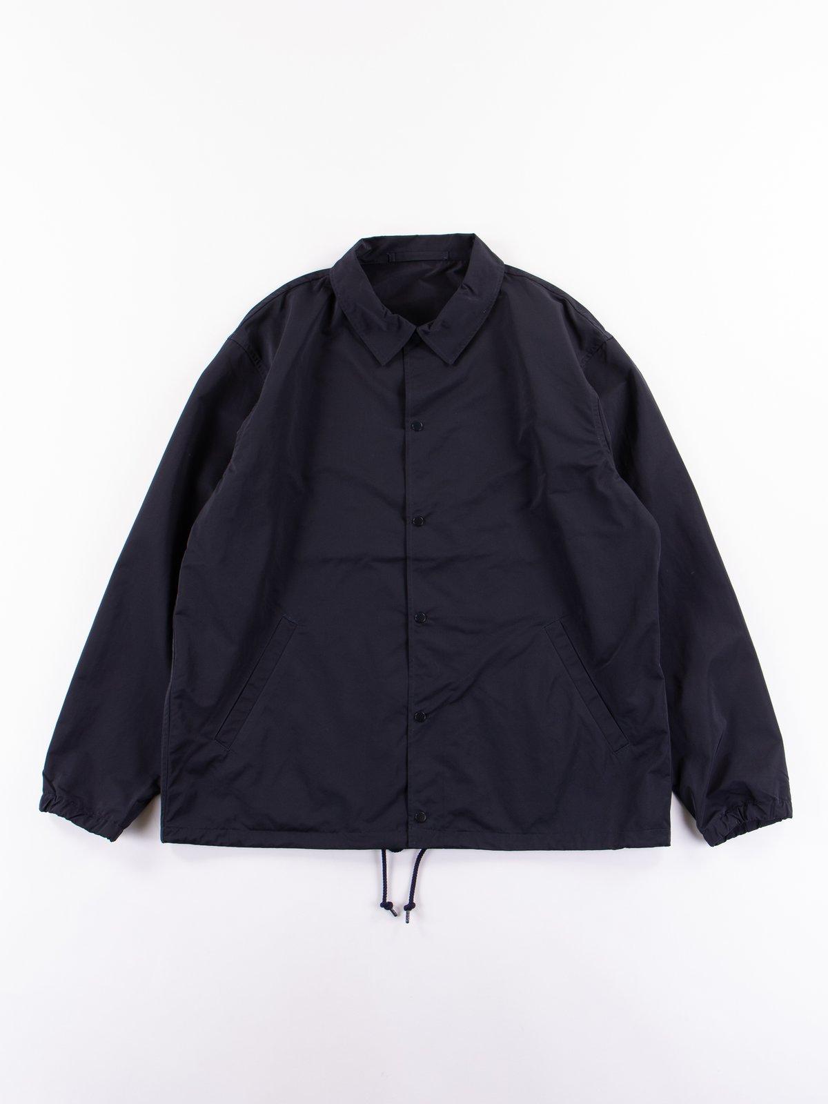 Navy Coach Jacket - Image 1