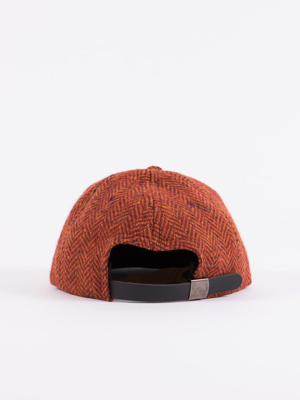 Rust HB Tweed NIer 6 Panel Ballcap - Image 4
