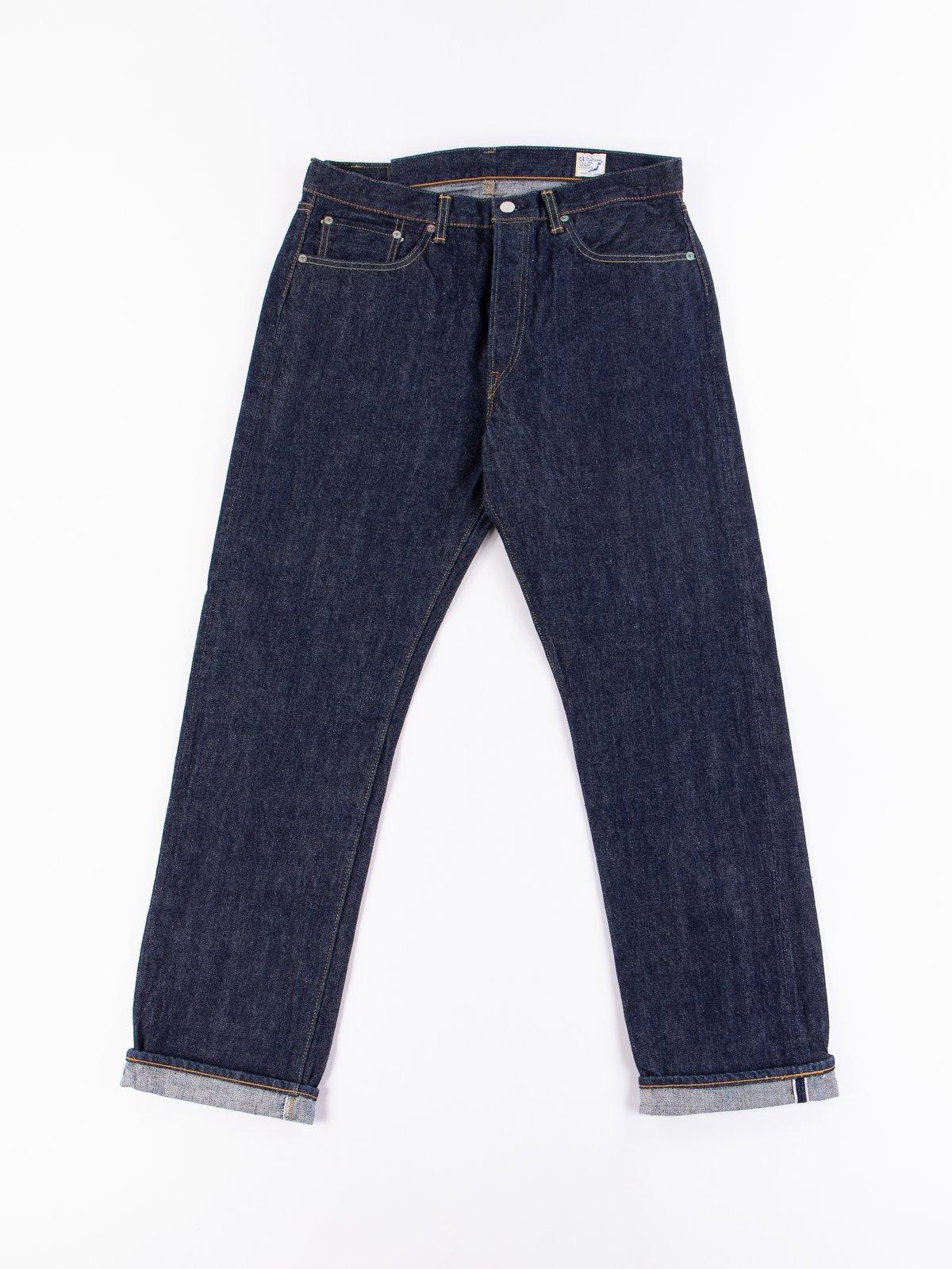 Indigo One Wash 105 Standard 5 Pocket Jean - Image 1
