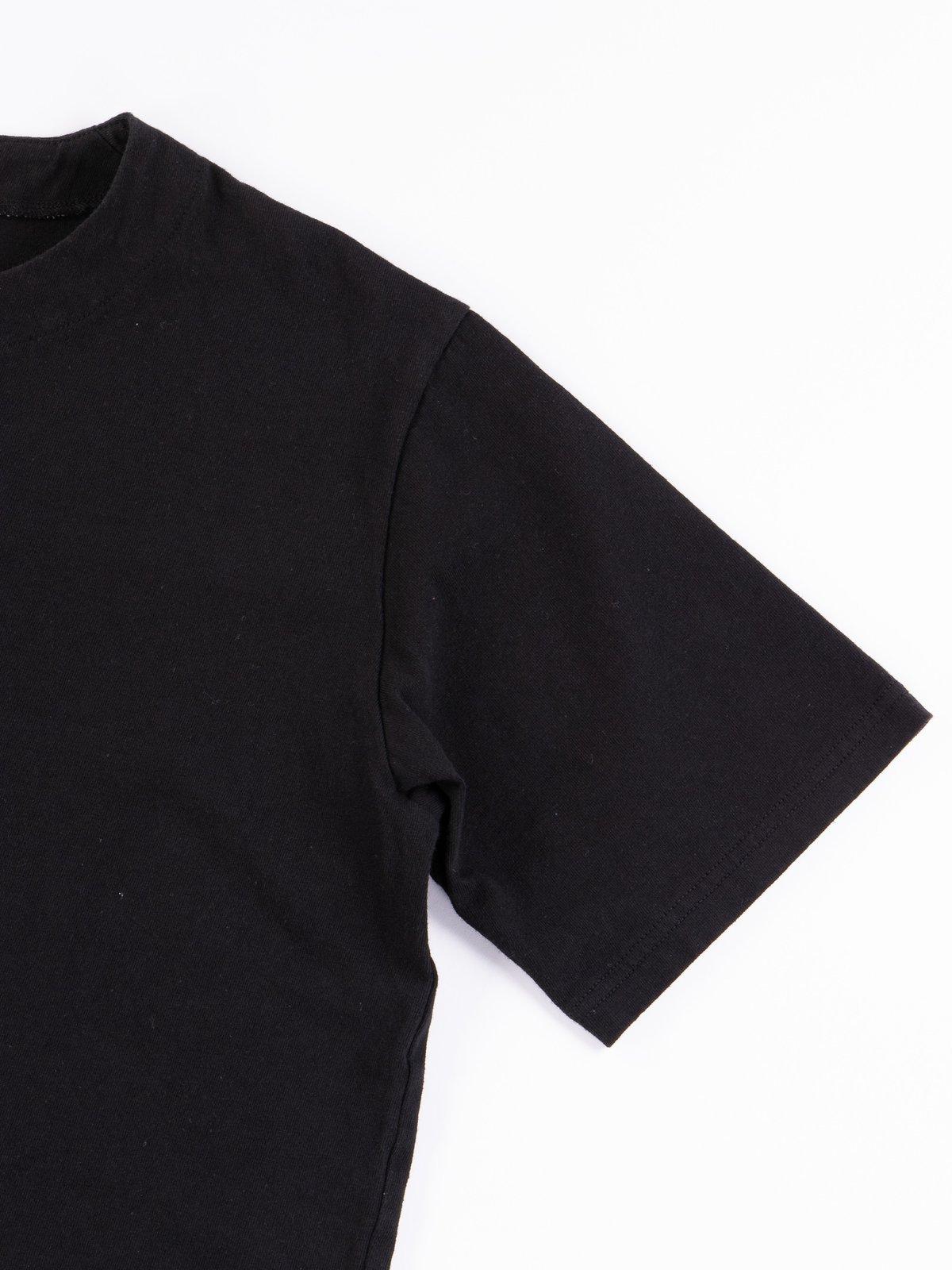 Black Henley T–Shirt - Image 4