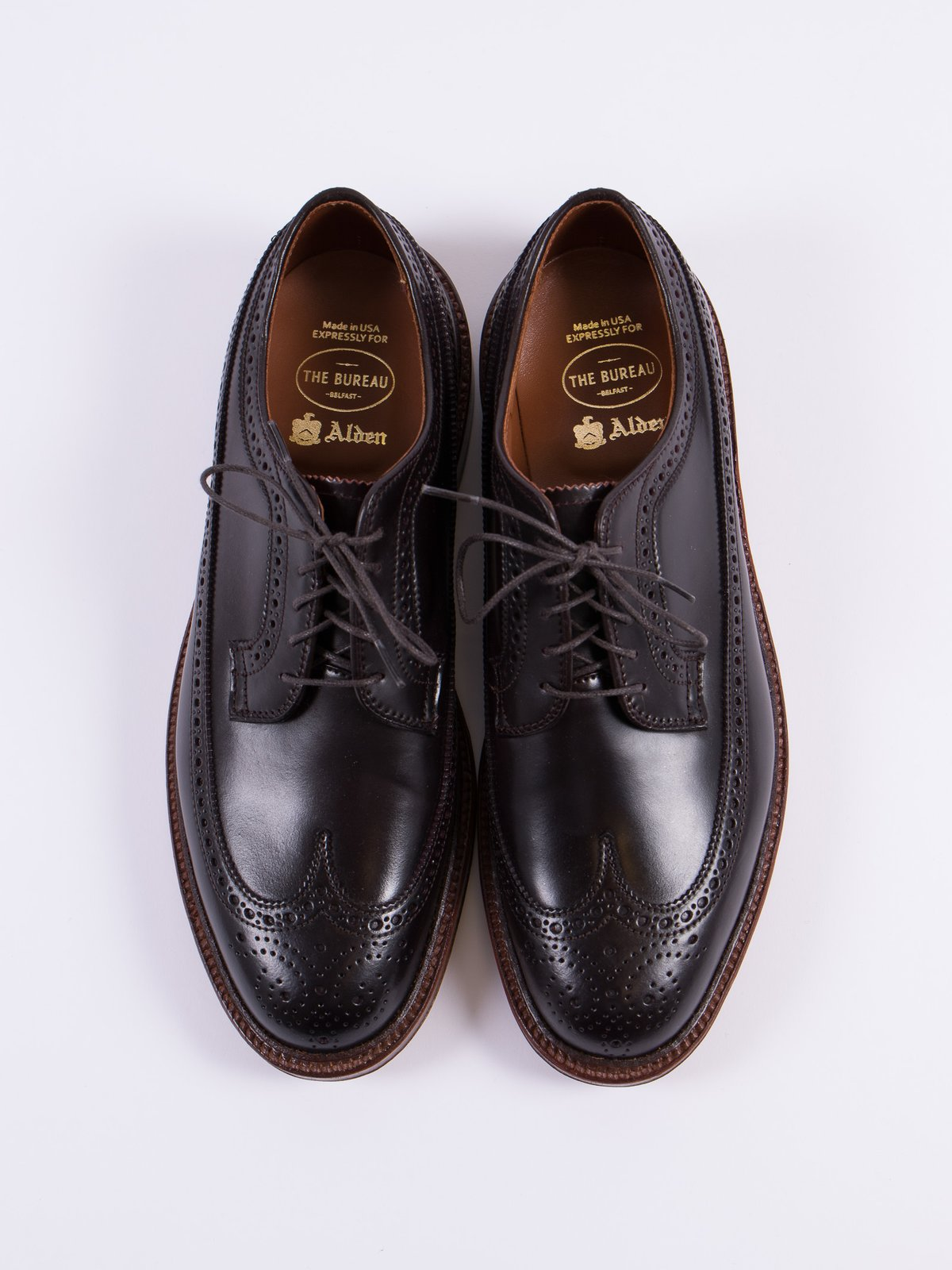 Color 8 Cordovan Long Wing Blucher - Image 6
