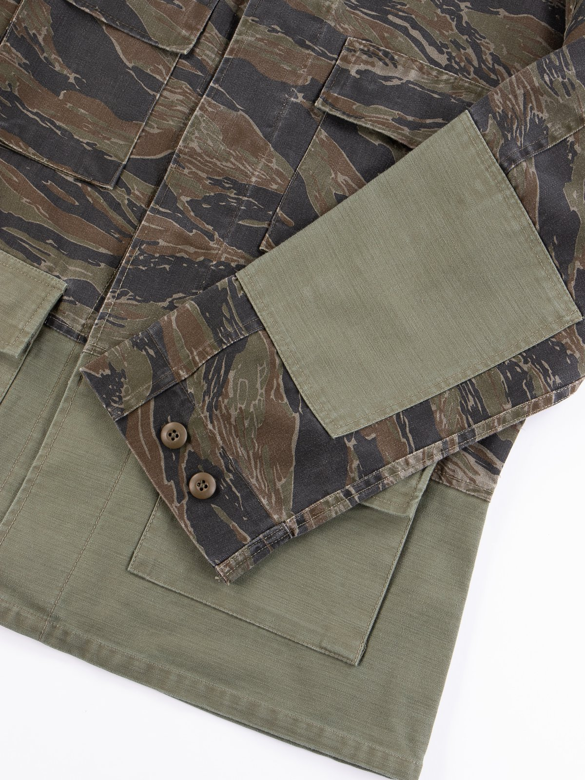 Reworks Camo/Olive Field Jacket - Image 5