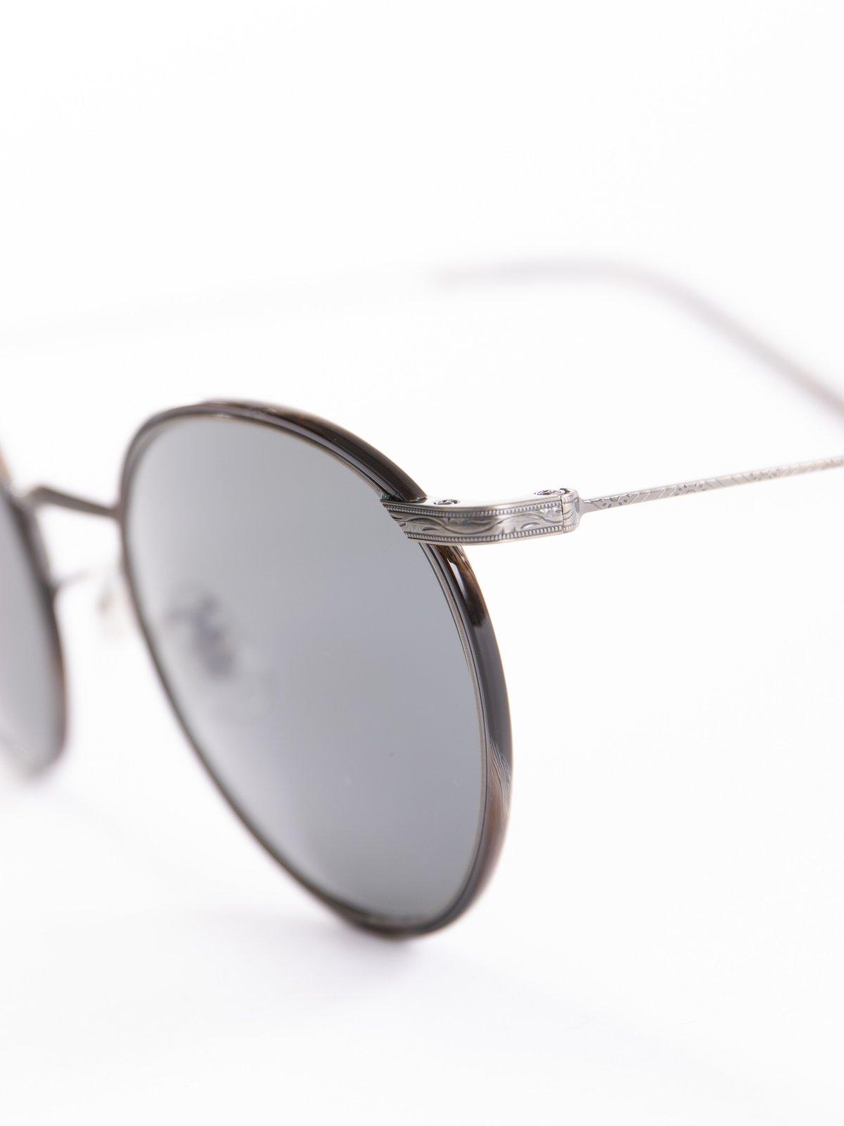 Pewter–Black Horn/Carbon Grey Casson Sunglasses - Image 3