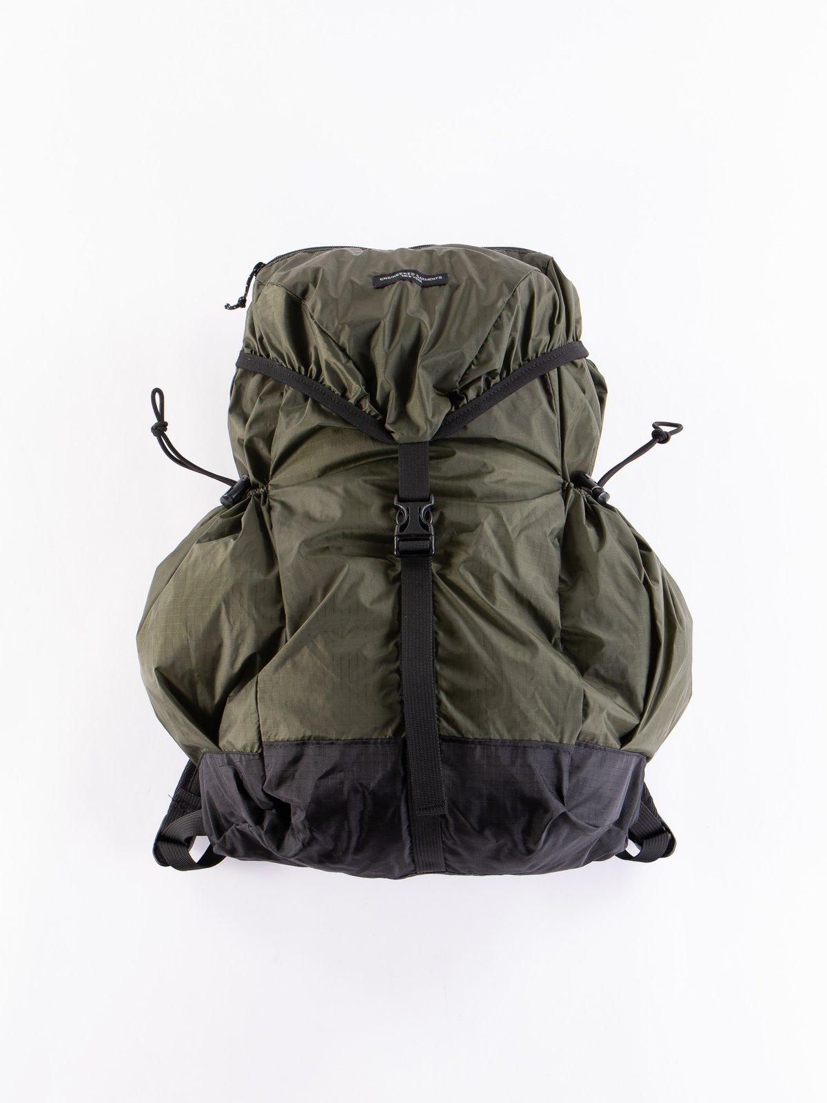 Olive Nylon Ripstop UL Backpack - Image 1