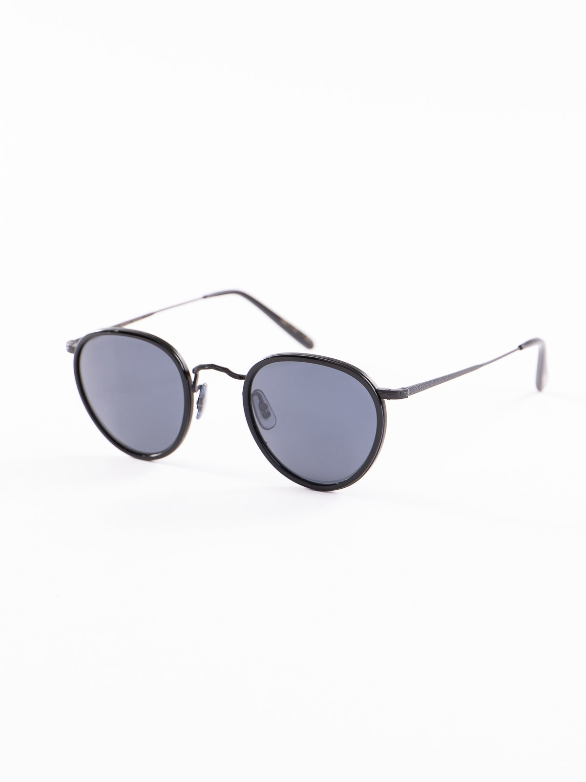 Black–Matte Black/Blue MP–2 Sunglasses - Image 2