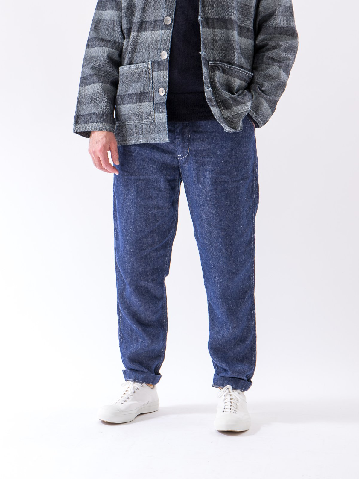 One Wash Denim TBB Mill Pant - Image 2