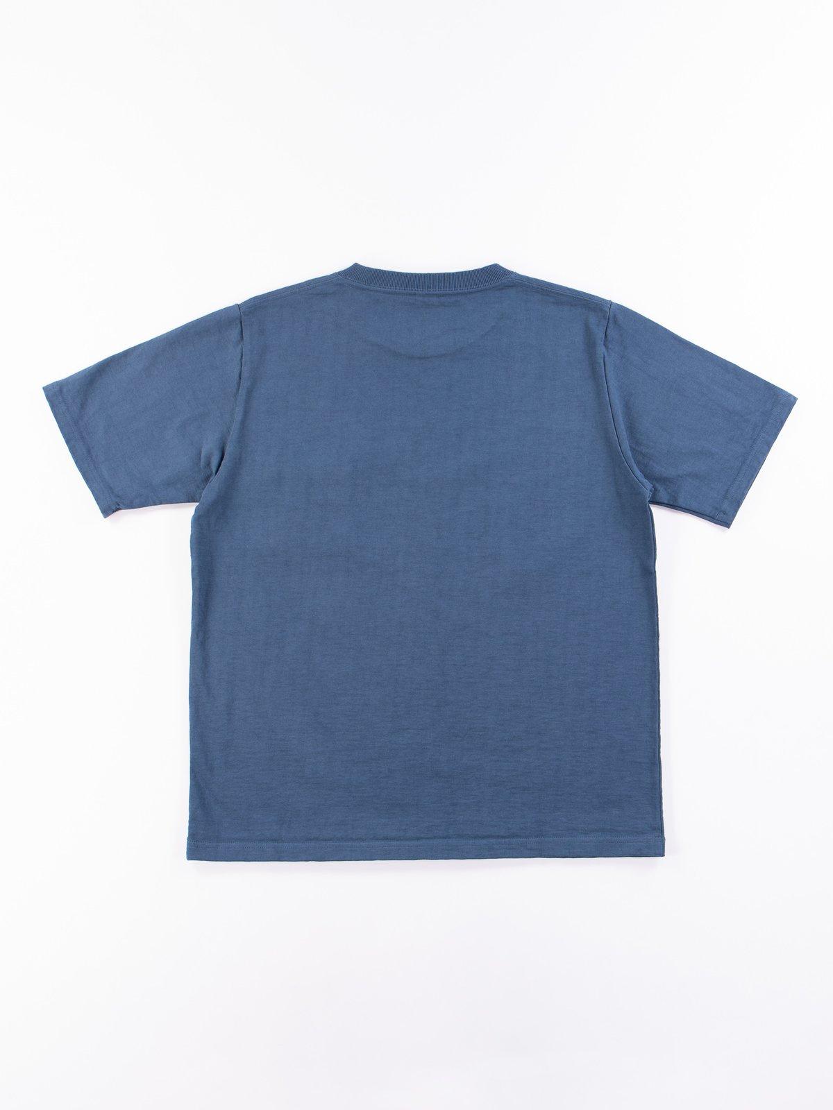 Ash Blue Dotsume Pocket T–Shirt - Image 6
