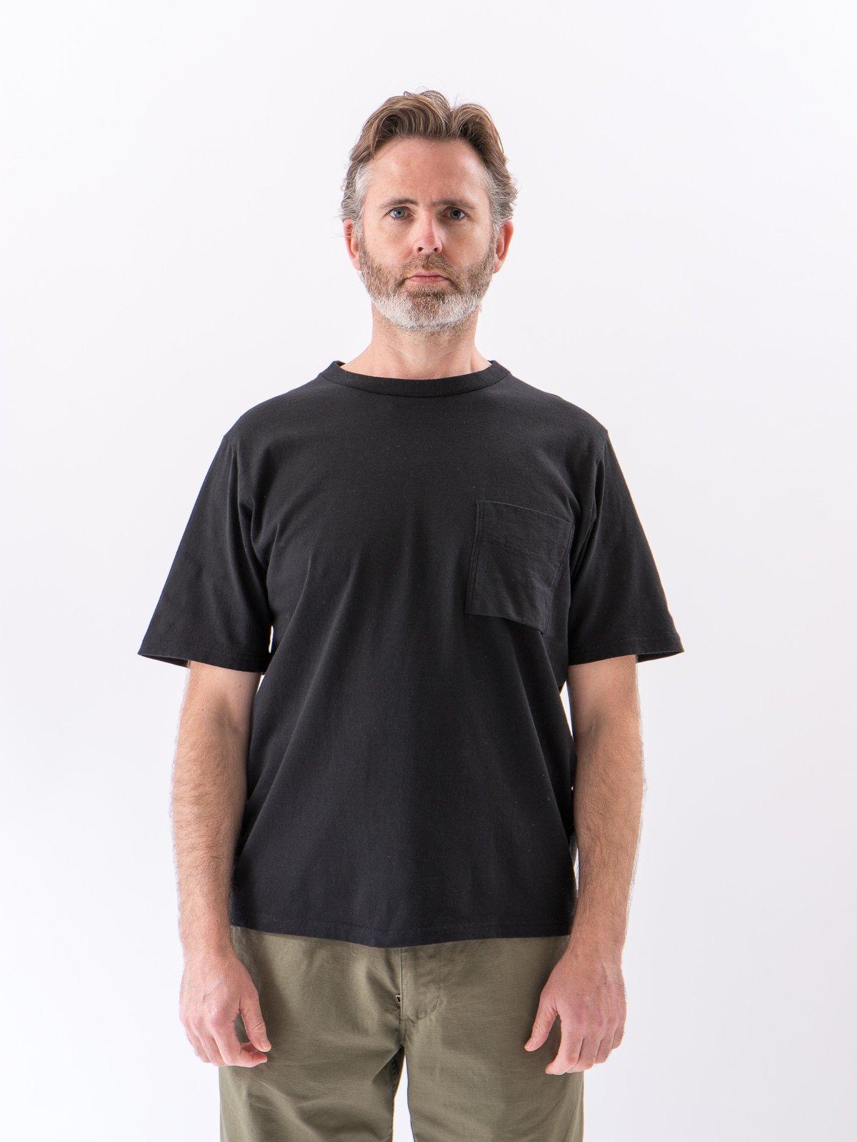 Black Pocket T–Shirt - Image 2