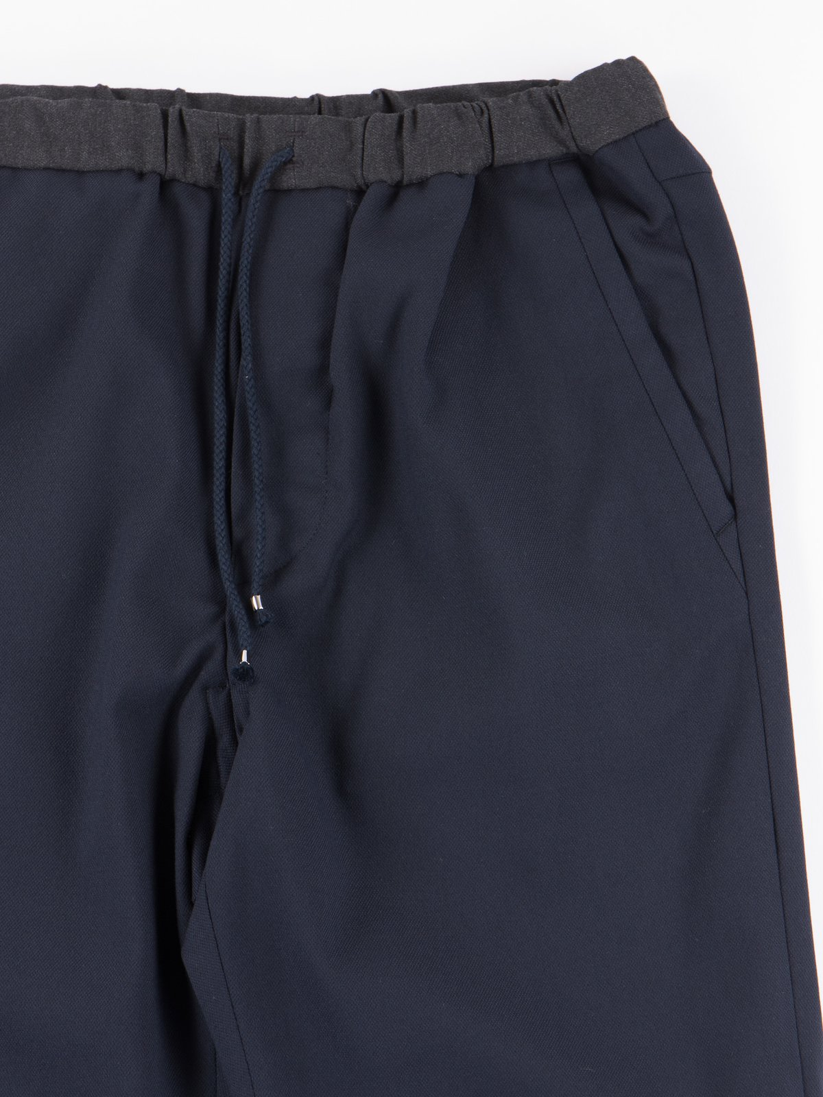 Dark Navy Slim Easy Slacks - Image 2