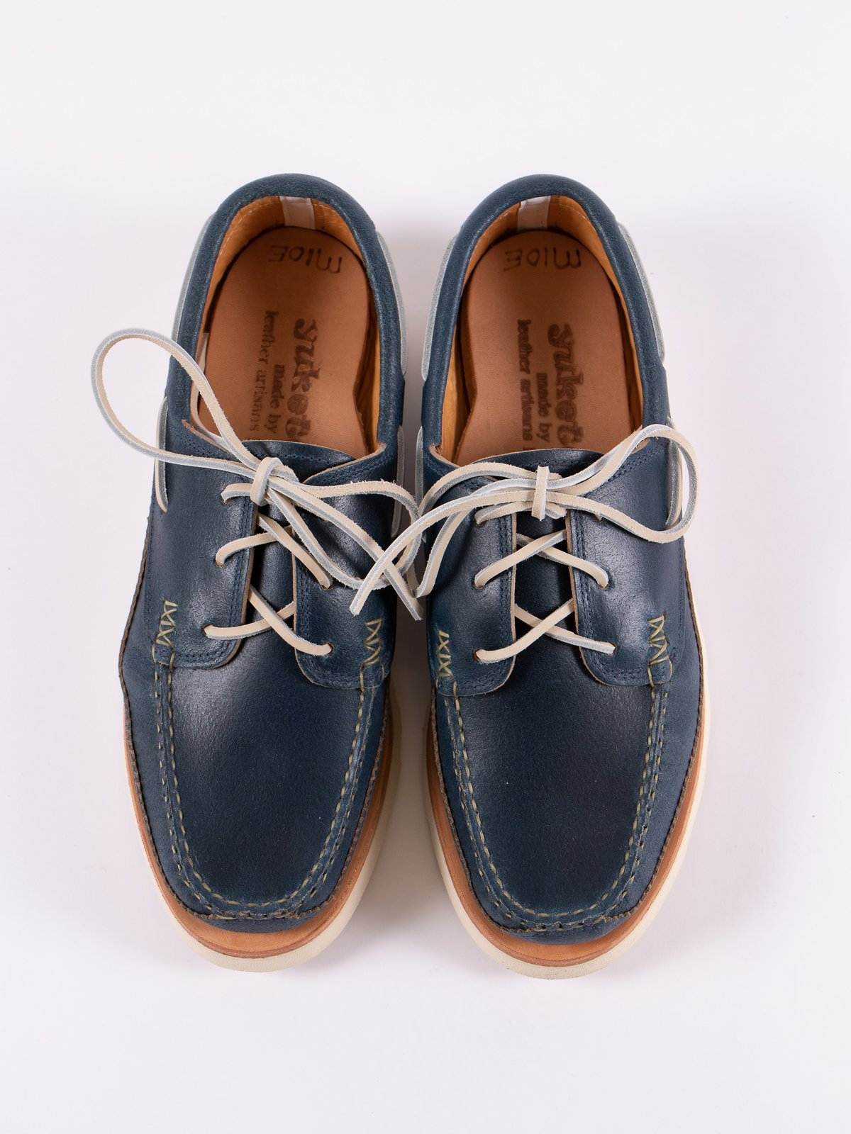 Wax Blue Boat Shoe Exclusive - Image 6