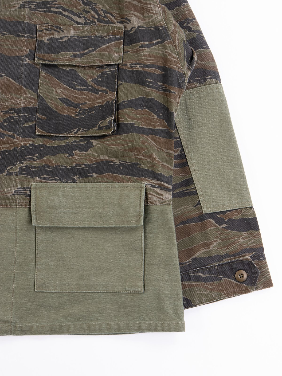 Reworks Camo/Olive Field Jacket - Image 3