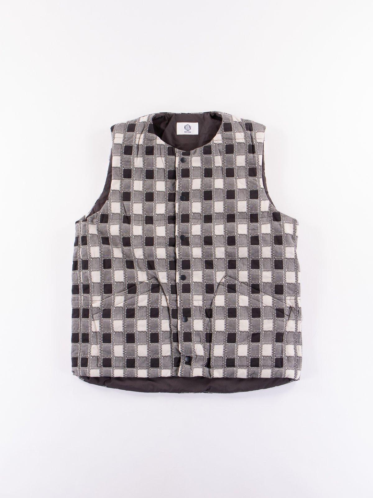 Miwa Yoshino Plaid Vest - Image 1