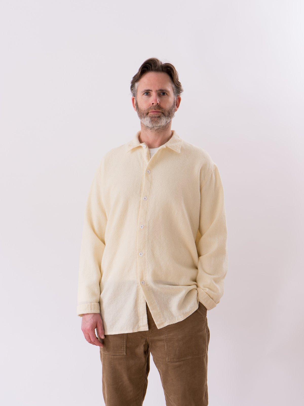 Cream Weavers Stock Tail Shirt - Image 2