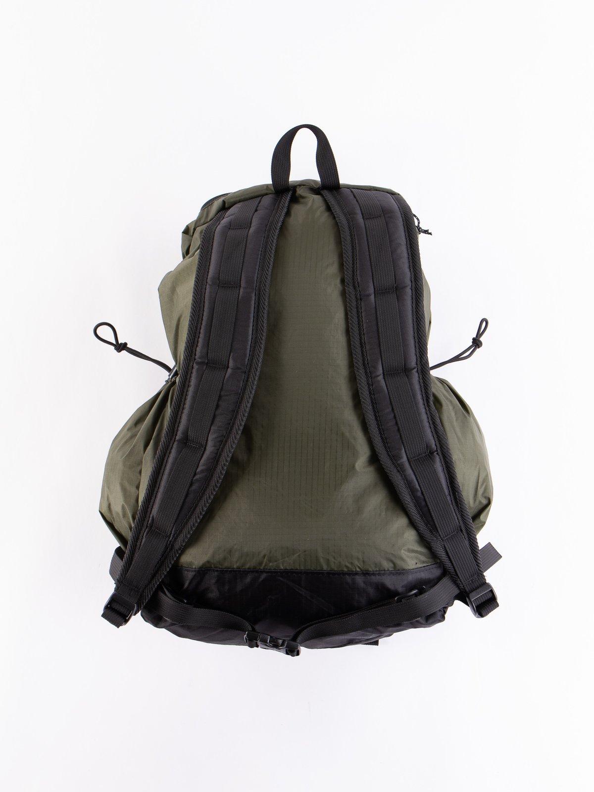 Olive Nylon Ripstop UL Backpack - Image 3