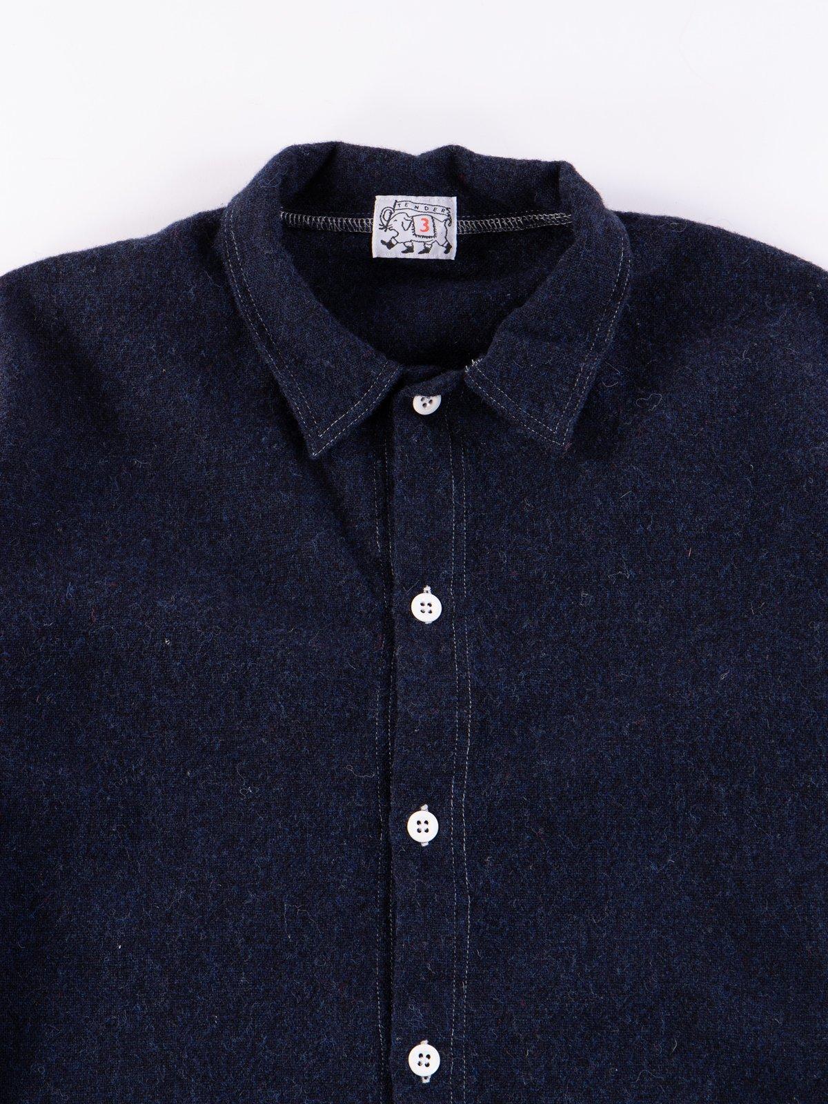 Navy Weavers Stock Tail Shirt - Image 3