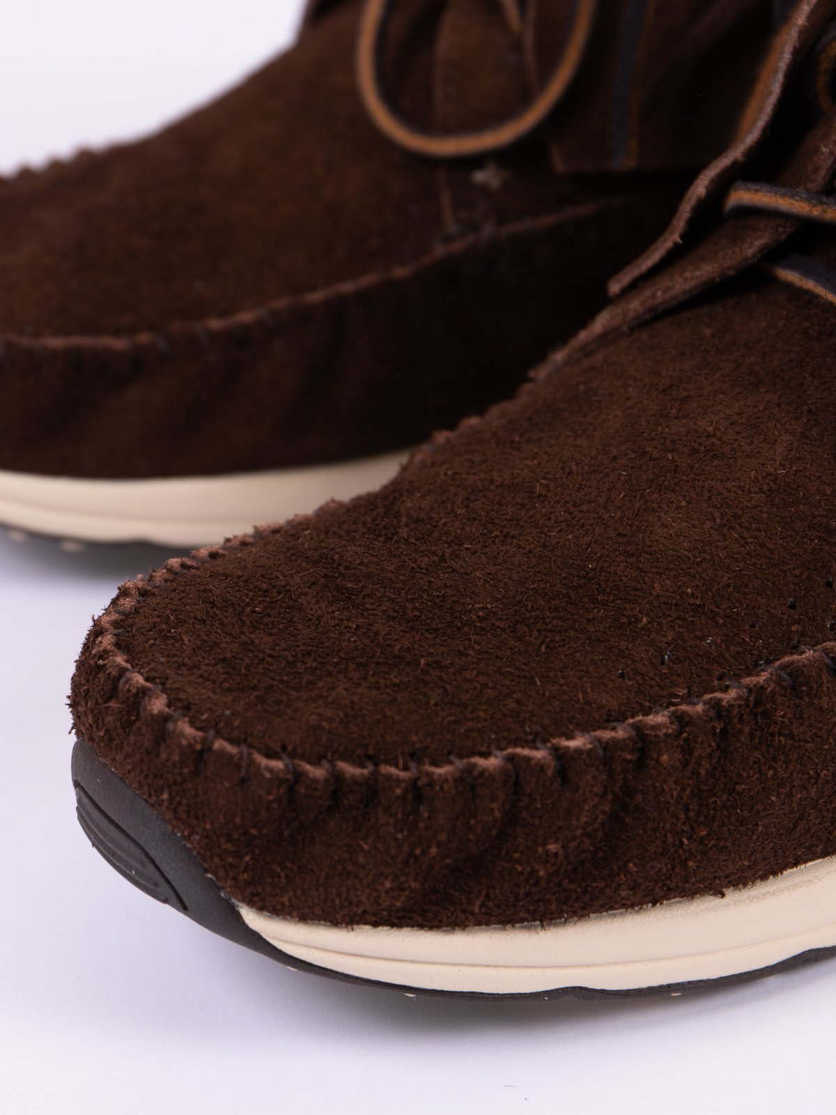 Dark Brown Veg Suede FBT - Image 3