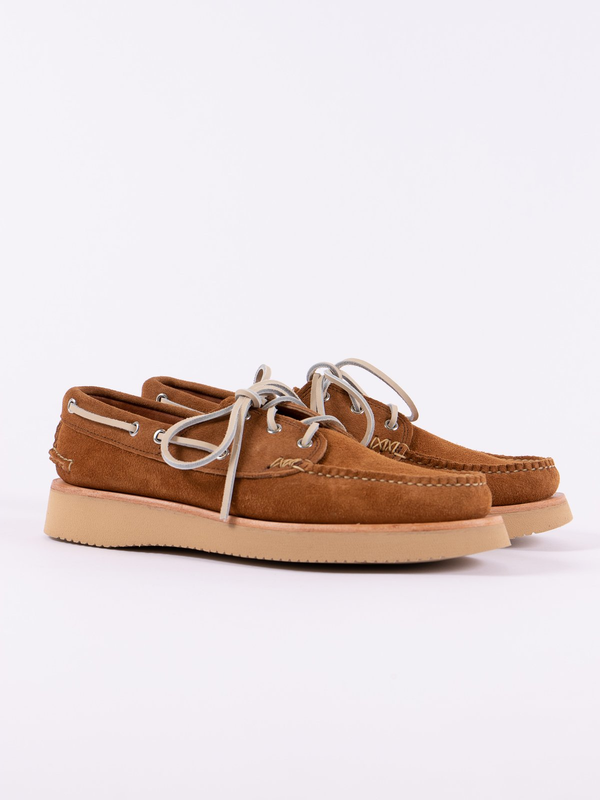 FO Golden Brown Boat Shoe Exclusive - Image 1
