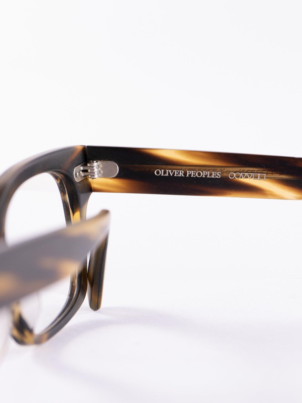 Semi–Matte Cocobolo Ryce Optical Frame - Image 4
