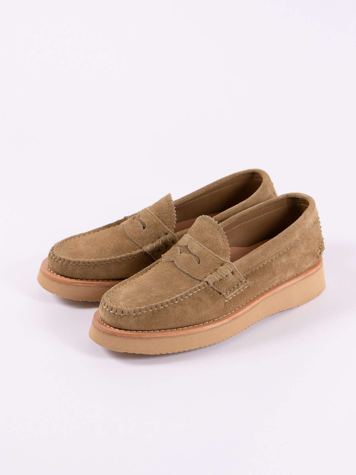 FO Khaki Loafer Shoe Exclusive - Image 2