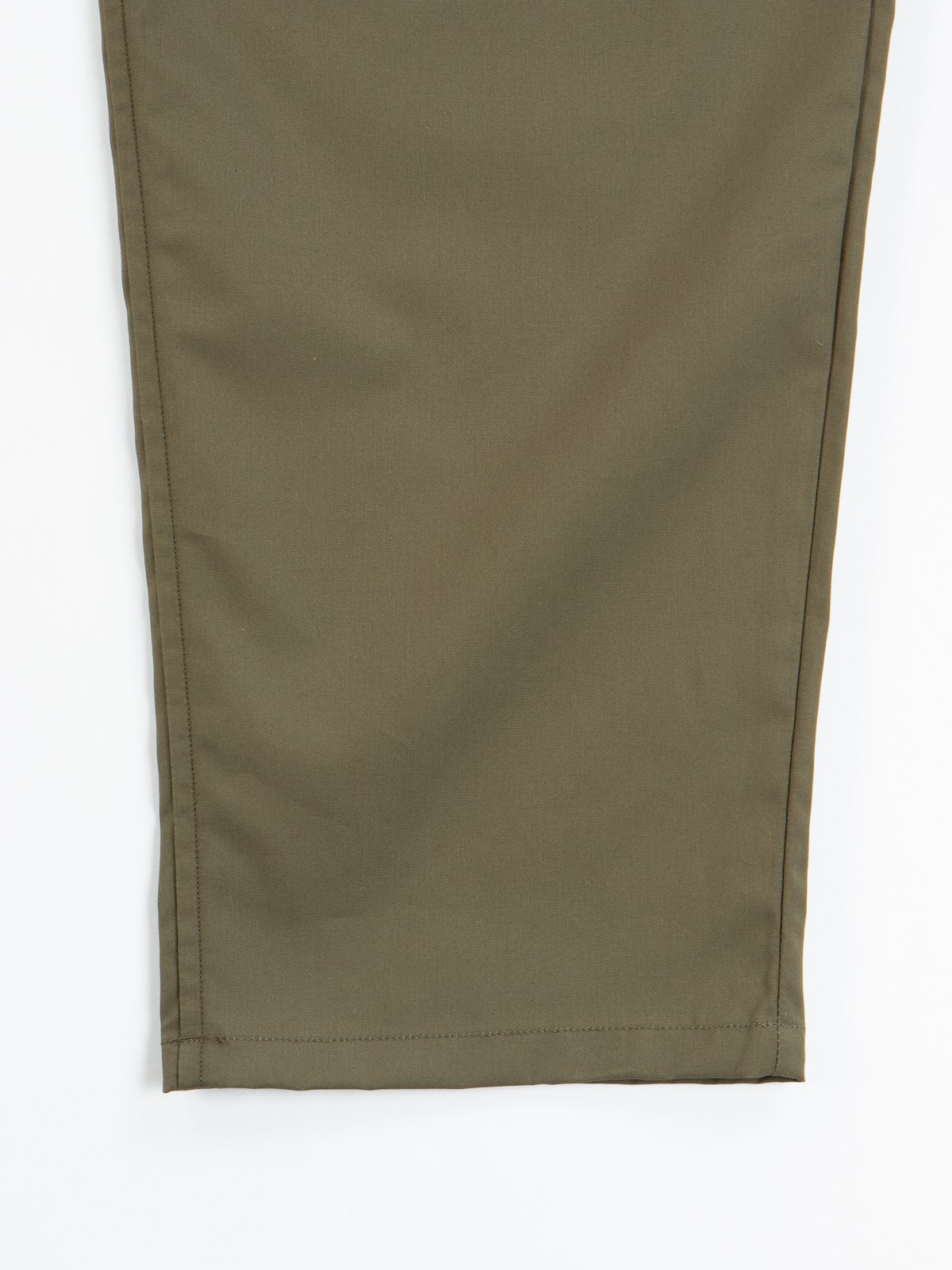 Olive Oxford Vancloth Drop Crotch Pant - Image 4