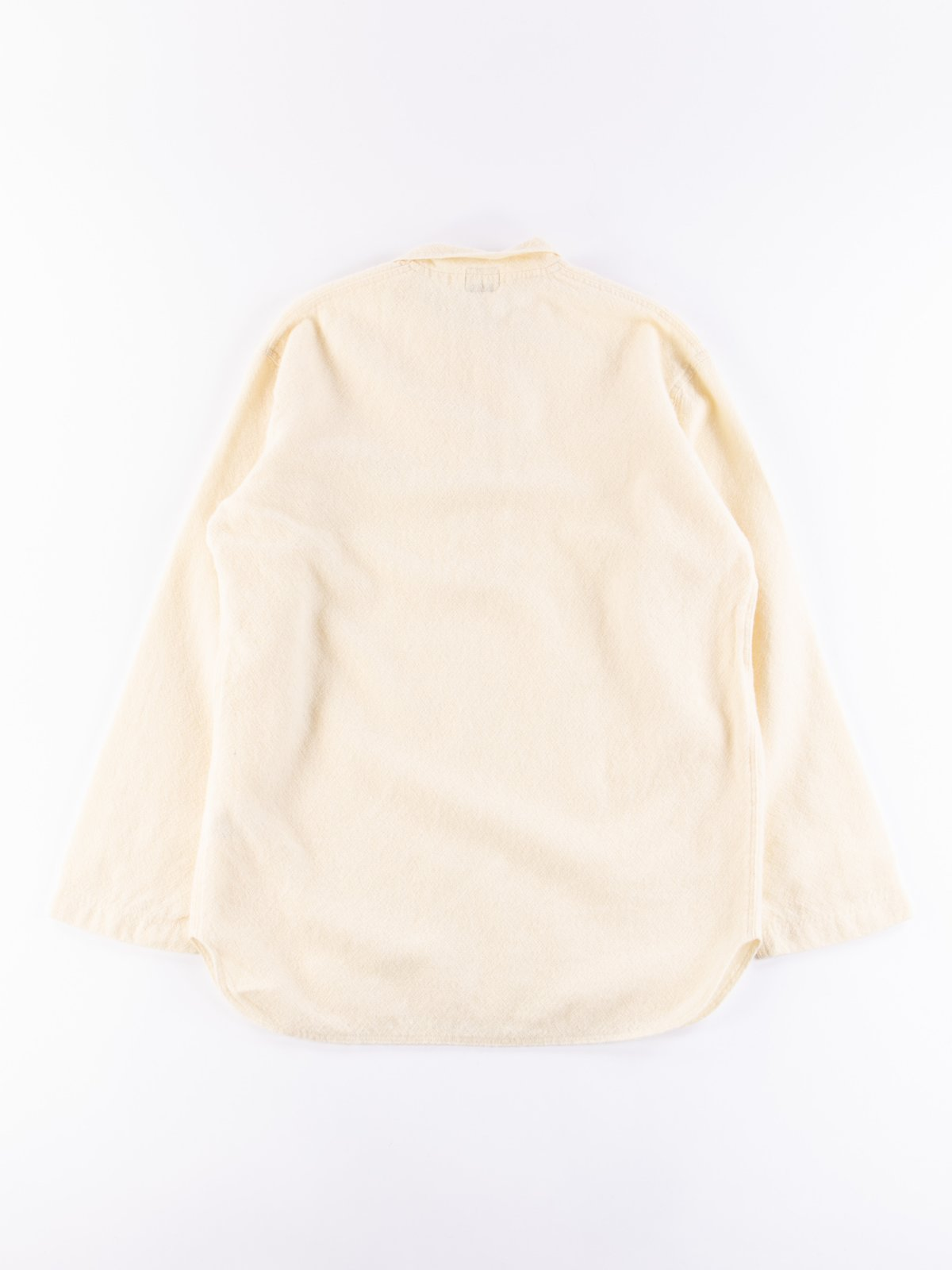Cream Weavers Stock Pullover Tail Shirt - Image 5