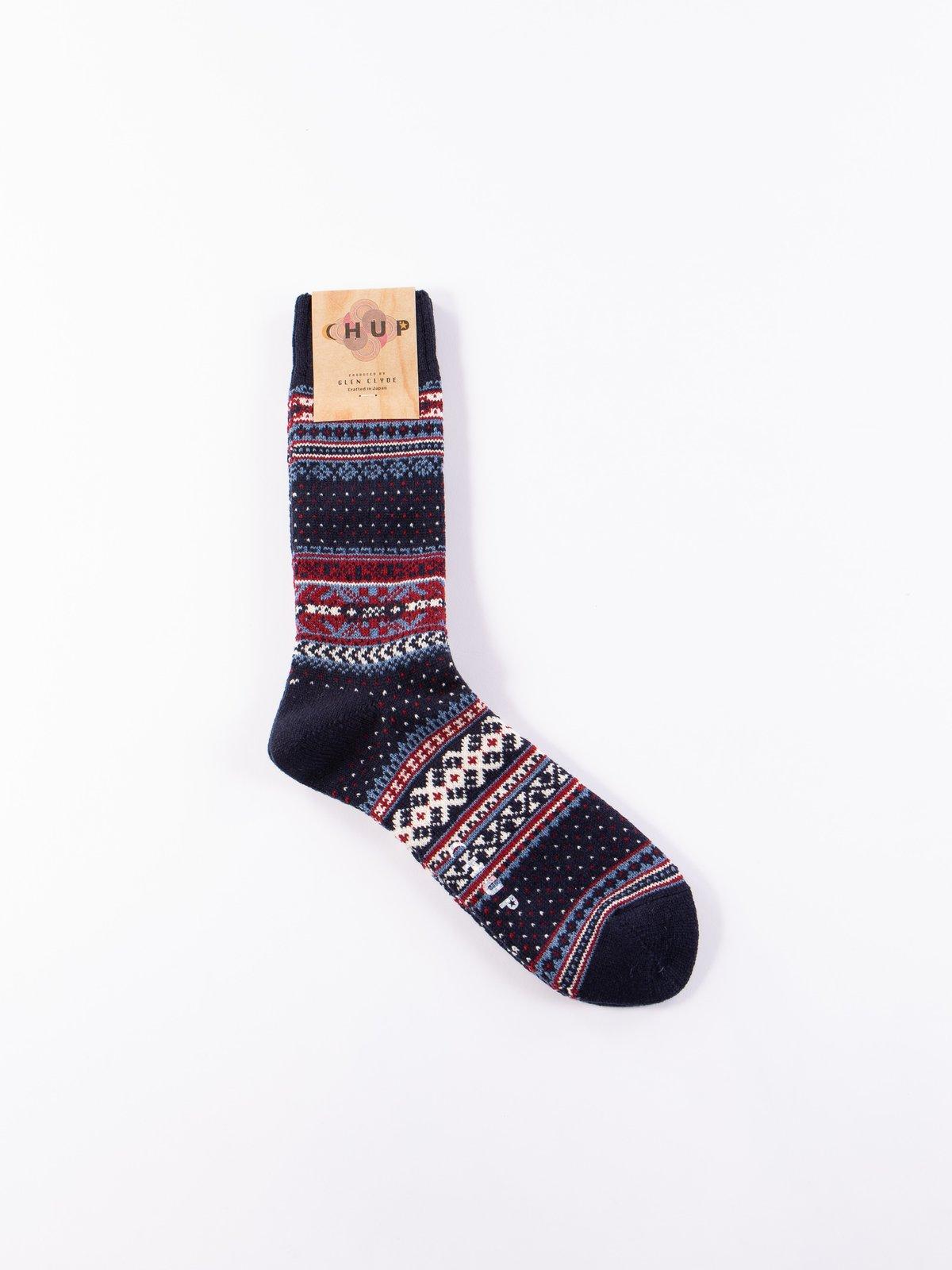 Navy Ceret Socks - Image 1