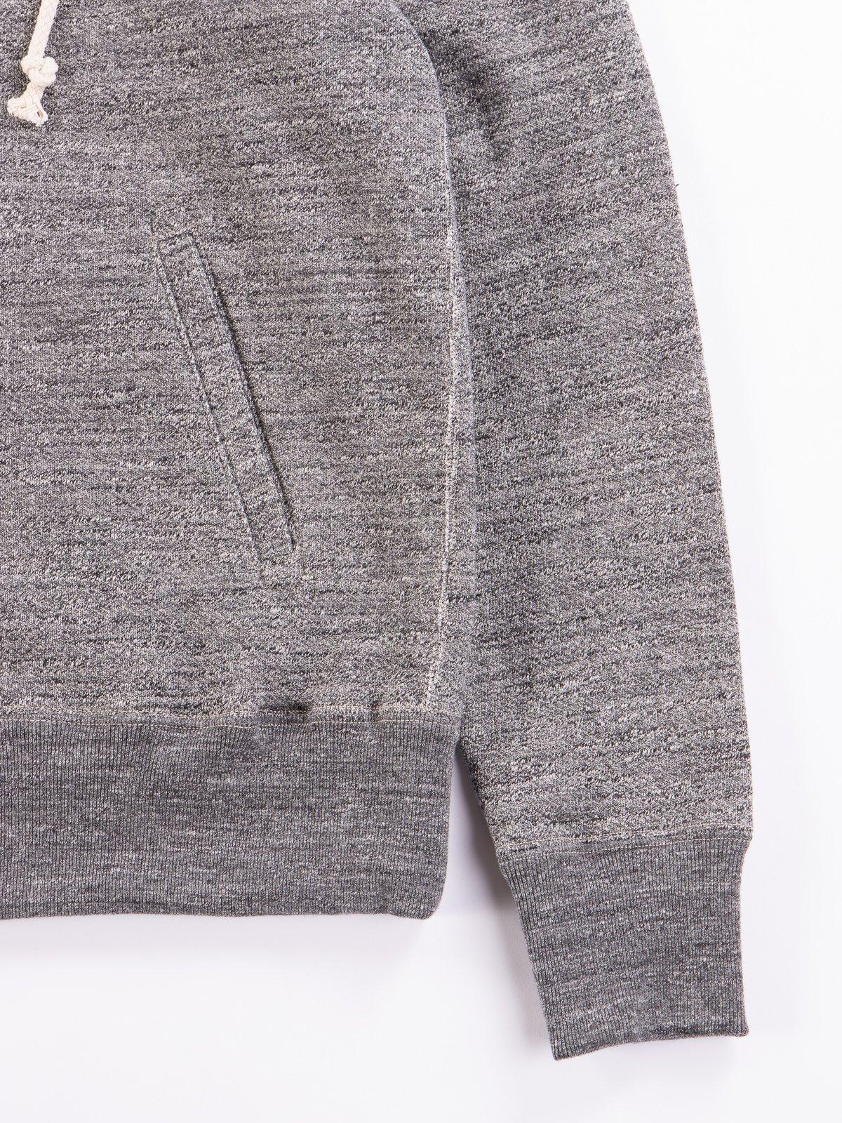Charcoal GG Full Zip Sweatshirt - Image 4
