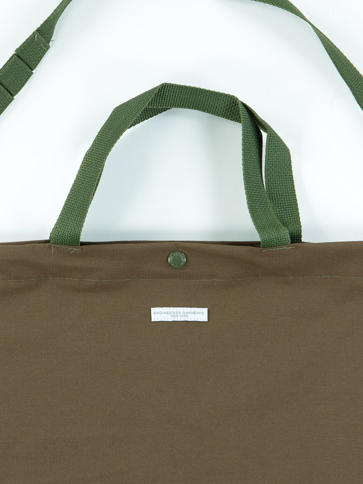 Olive Tech Ripstop Carry All Tote - Image 2
