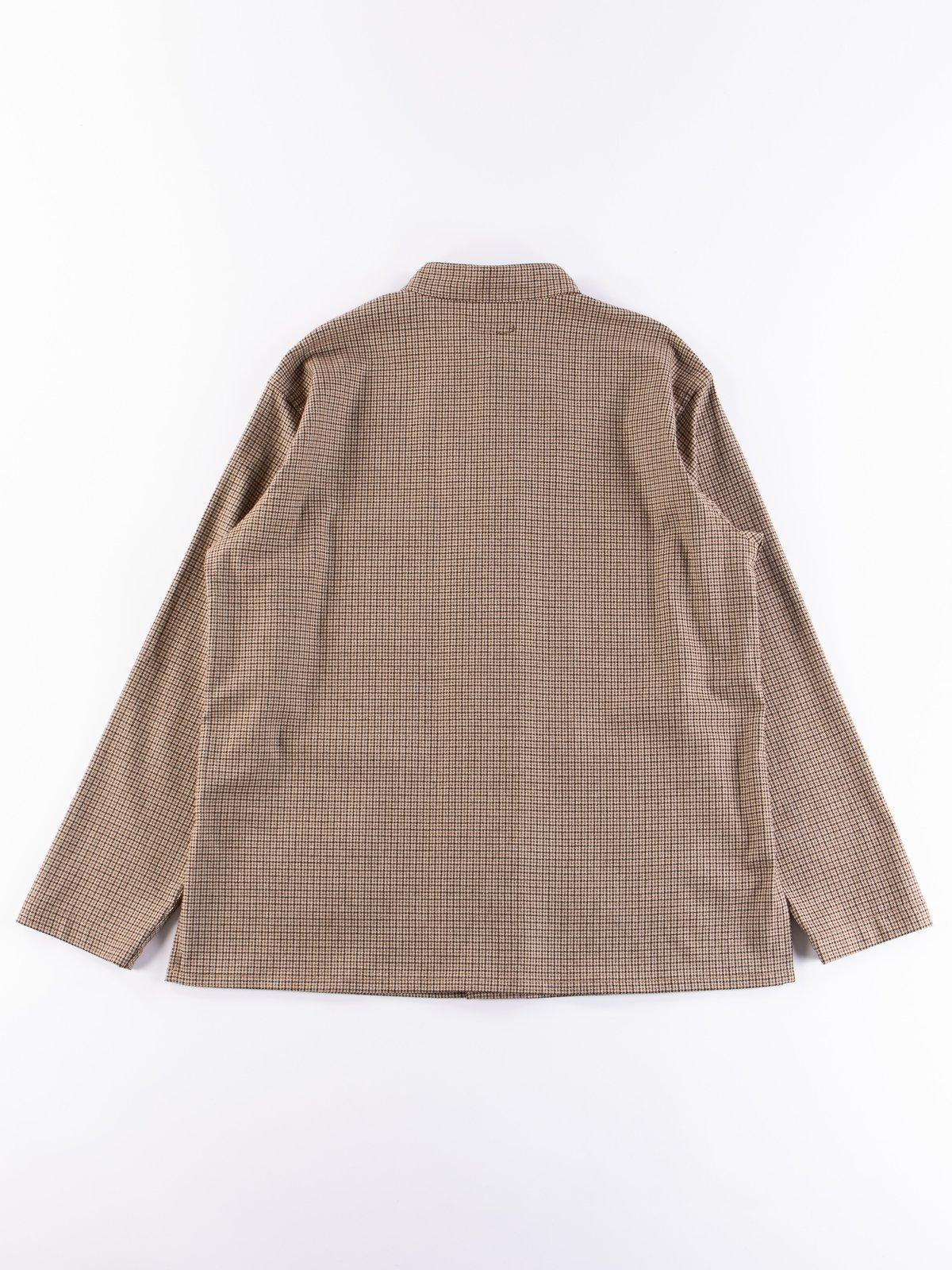 Brown Wool Poly Gunclub Dayton Shirt - Image 5