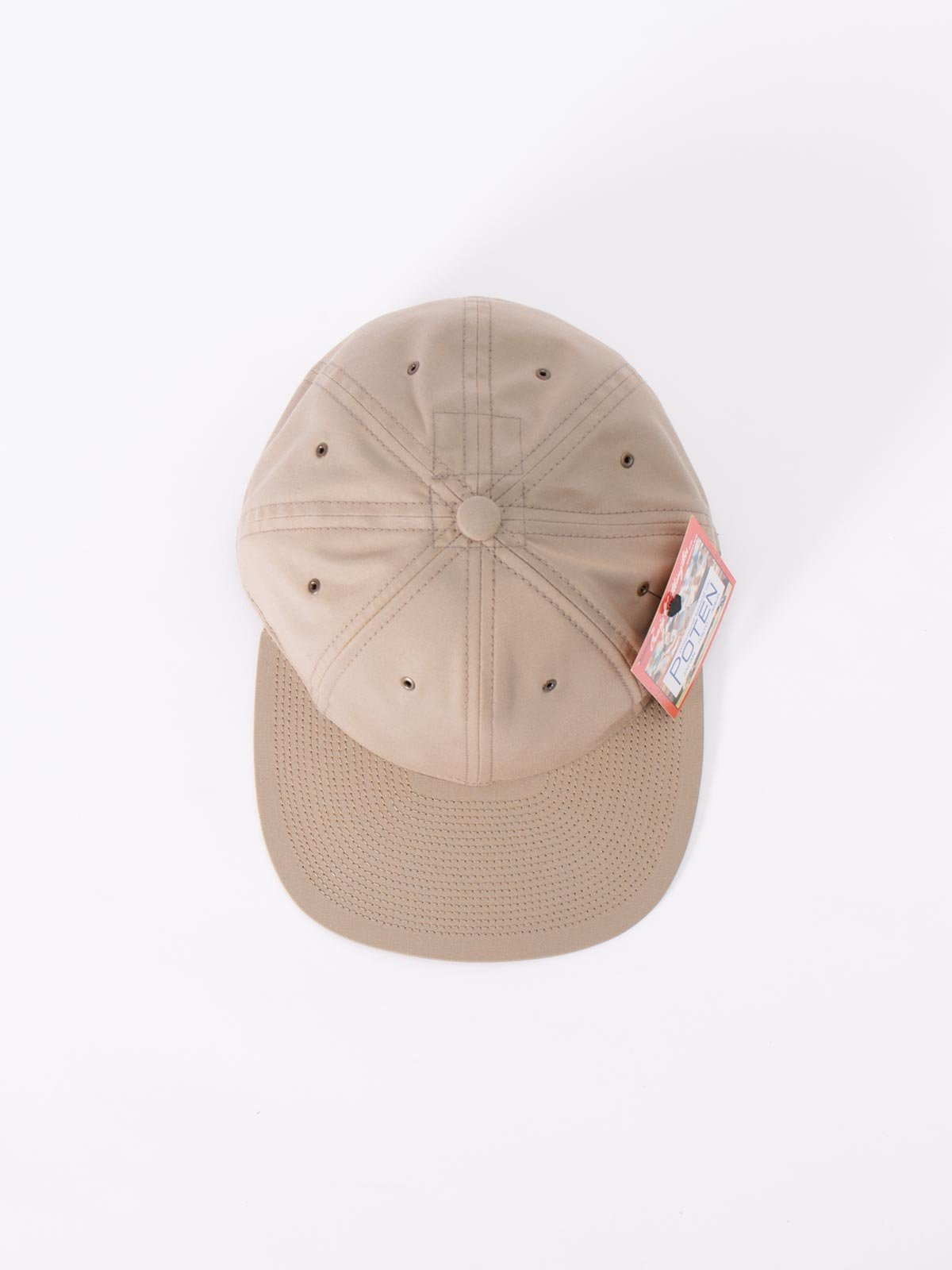 BEIGE COTTON CAP - Image 3