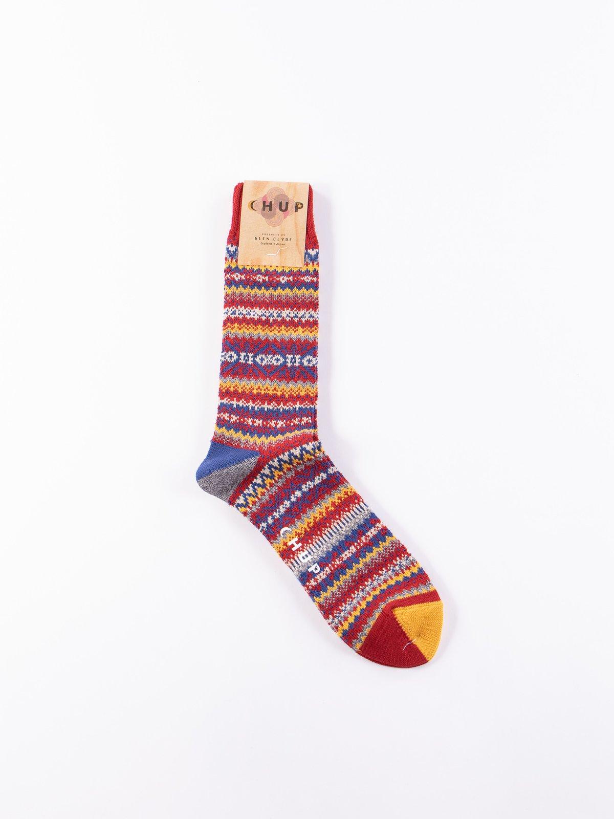 Scarlet Snjor Socks - Image 1