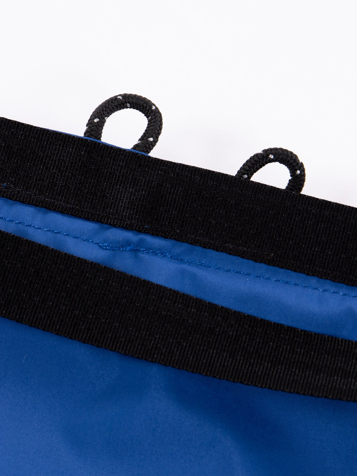 Blue Roll Nylon Shoulder Bag - Image 6