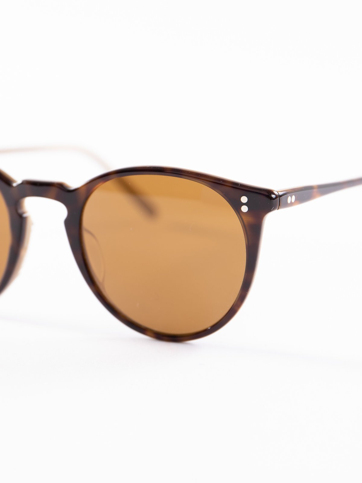 362–Horn/Brown O'Malley Sunglasses - Image 3