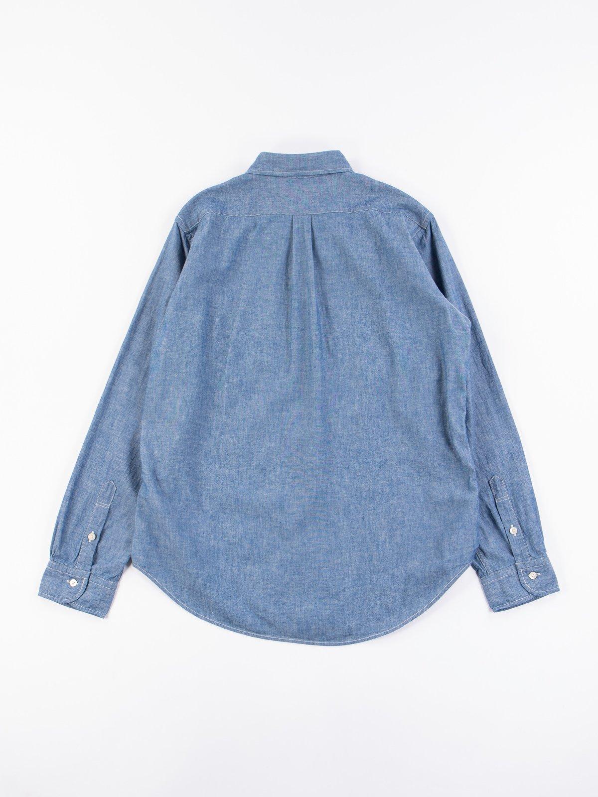Blue Chambray BD Shirt - Image 5
