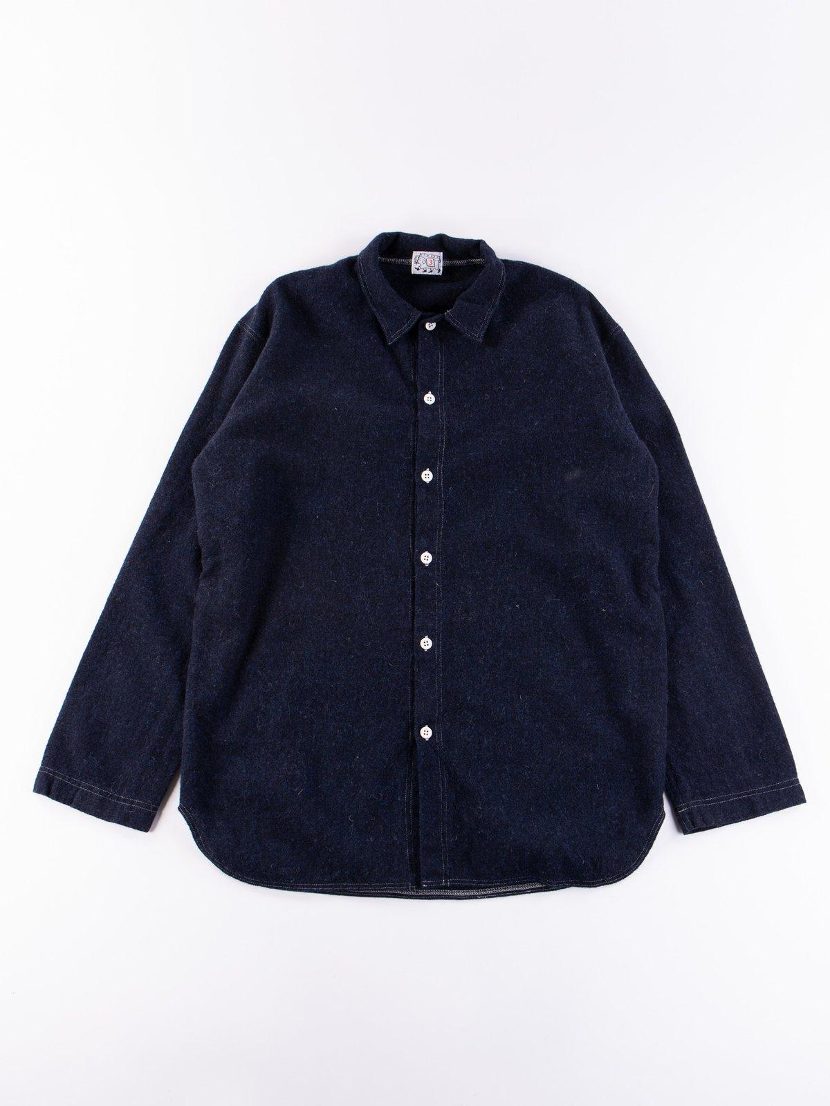Navy Weavers Stock Tail Shirt - Image 1