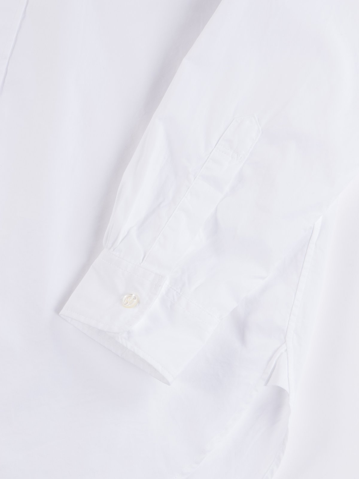 White 100's 2Ply Broadcloth 19th Century BD Shirt - Image 5