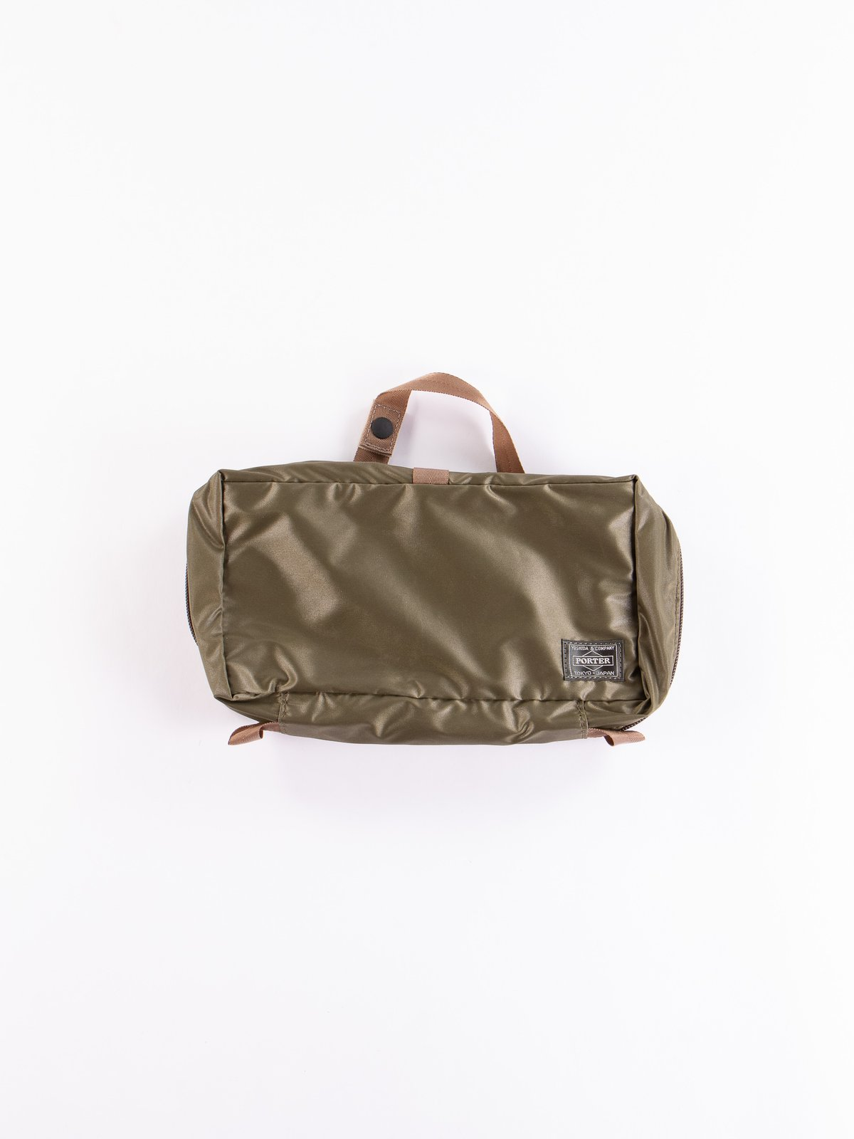 Olive Drab Snack Pack 09811 Cosme Pouch - Image 1