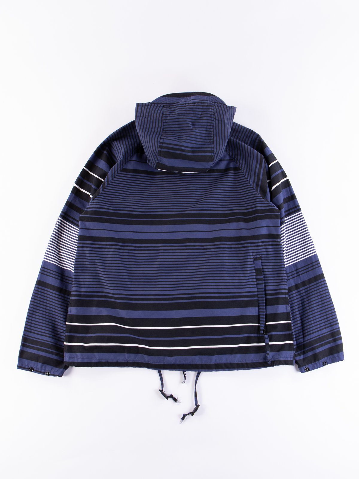 Navy Horizontal Stripe Activecloth Atlantic Parka - Image 6