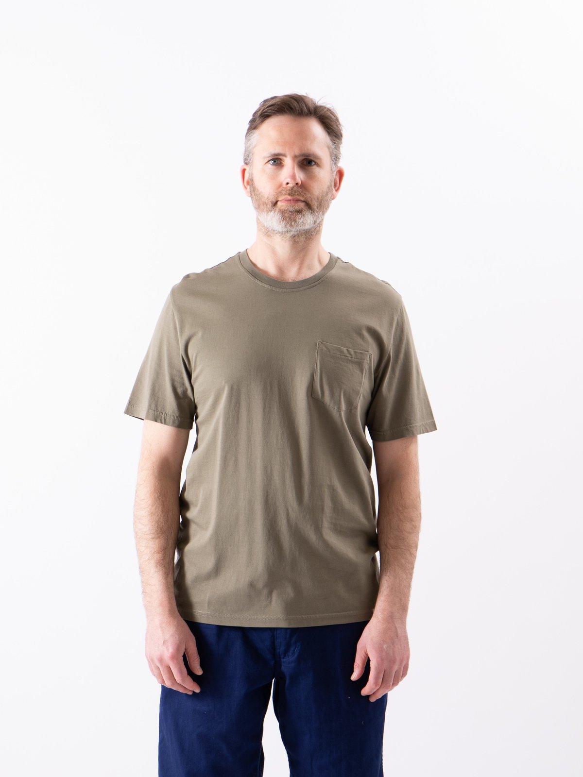 Army Good Basics CTP01 Pocket Crew Neck Tee - Image 2