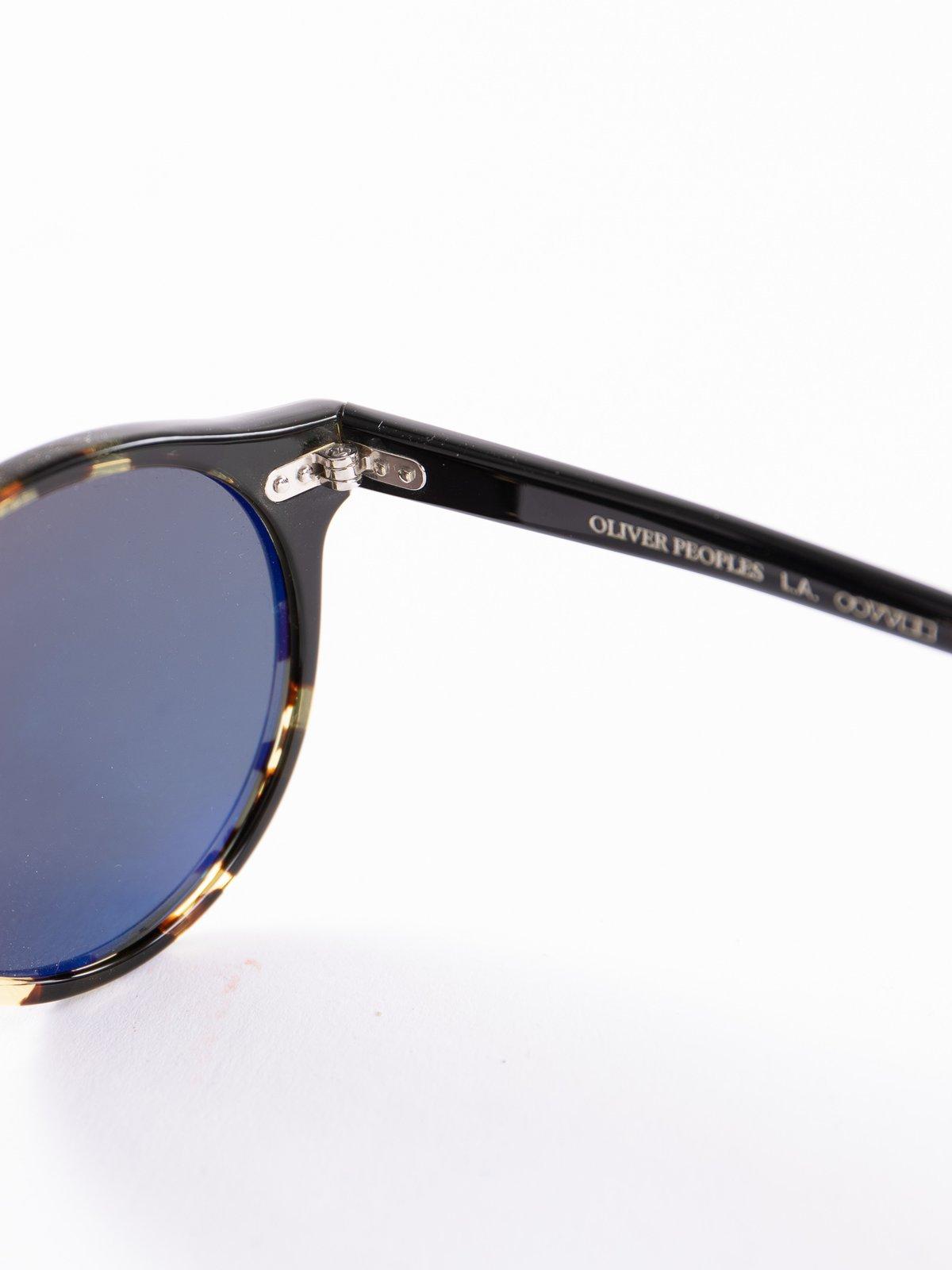 Black–DTBK Gradient/Green Polar Gregory Peck Sunglasses - Image 4