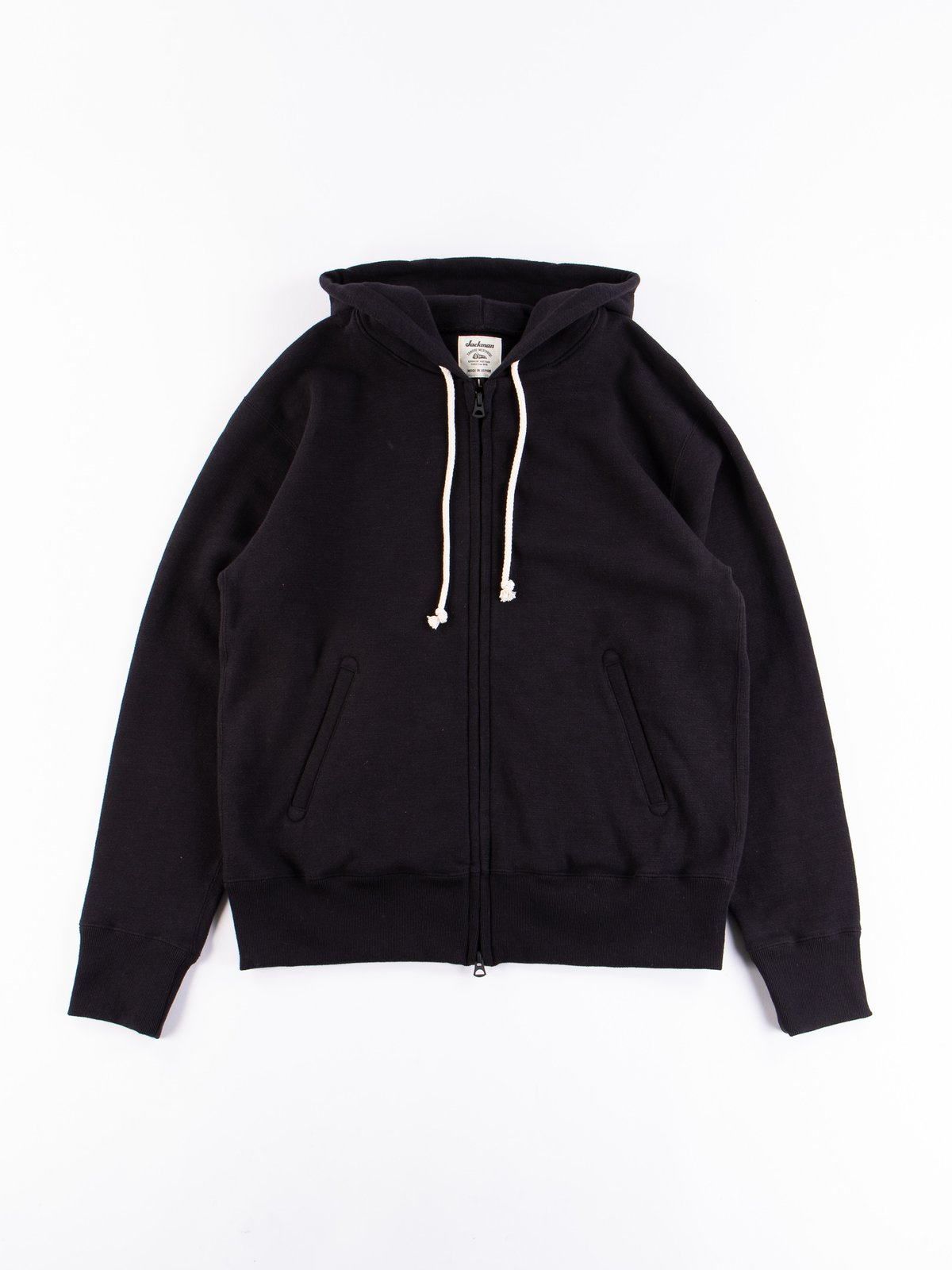 Black GG Full Zip Sweatshirt - Image 1