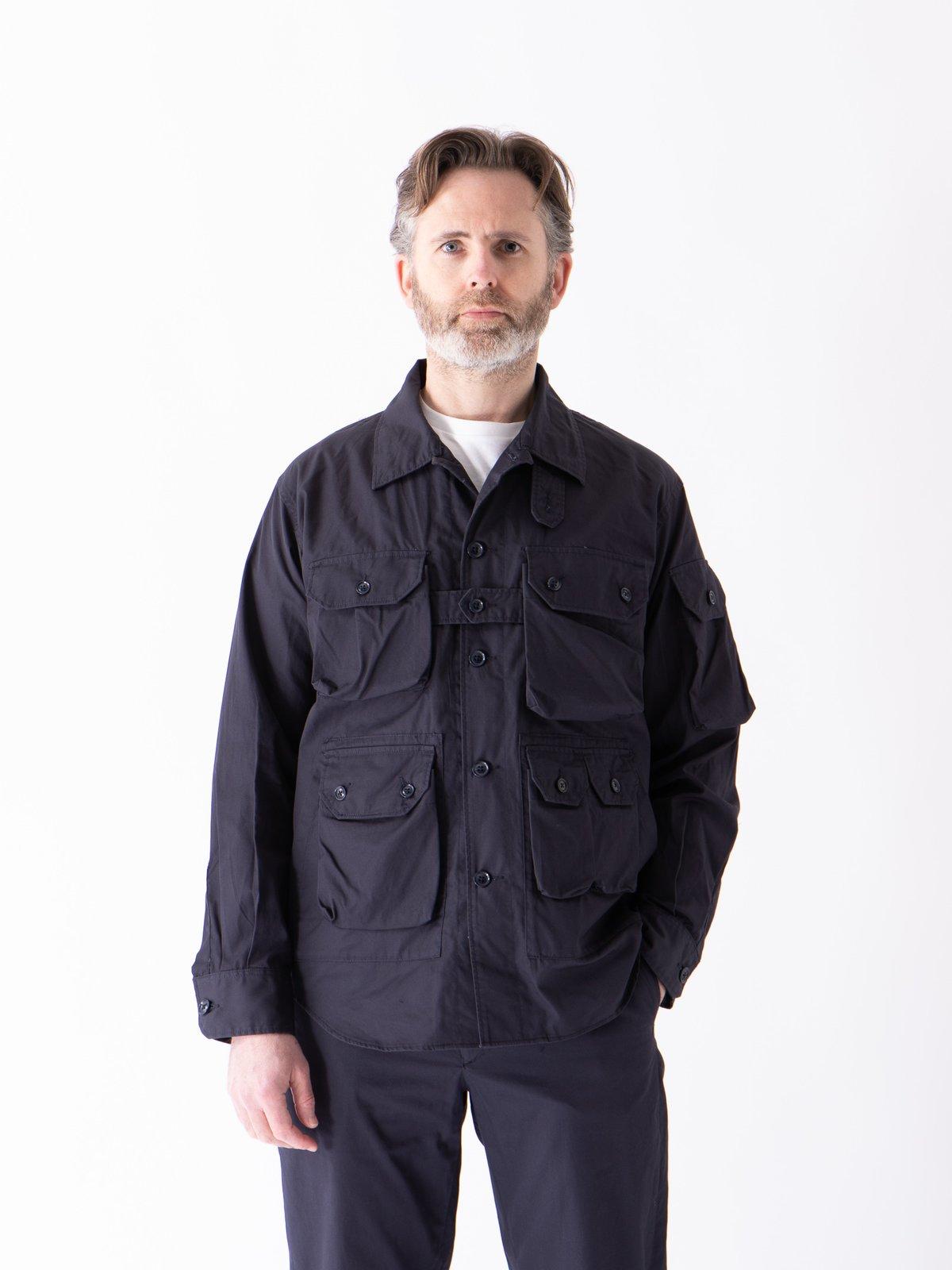 Dark Navy Highcount Twill Explorer Shirt Jacket - Image 2