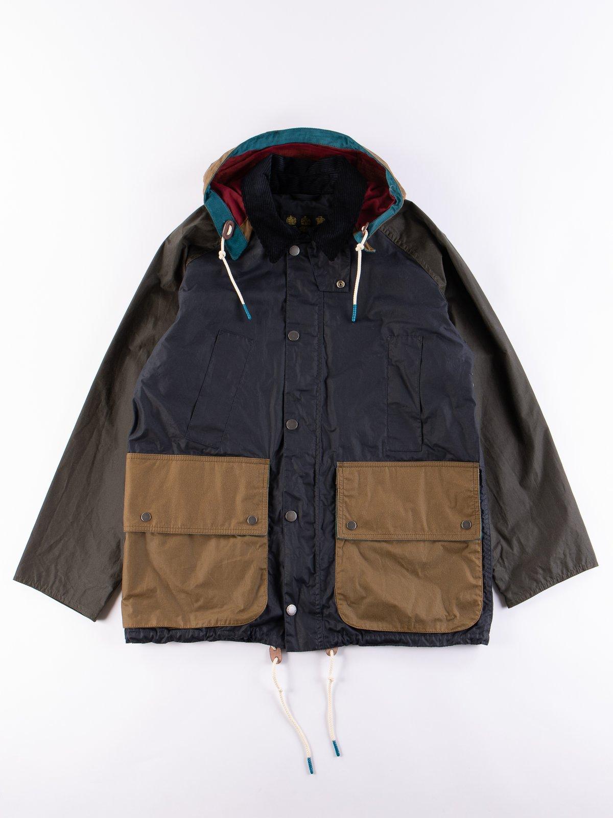 Multi Pitt Wax Jacket - Image 1