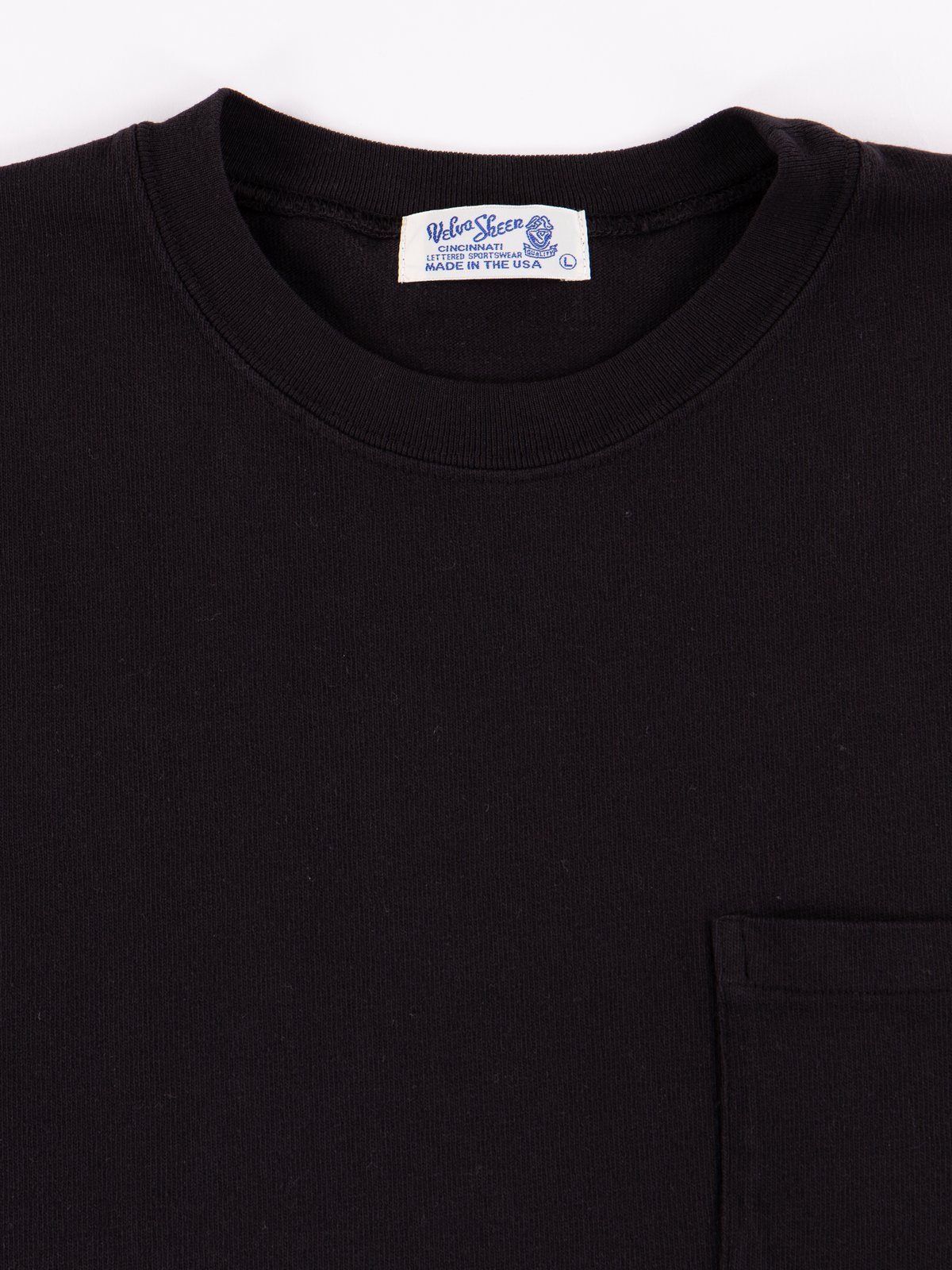 Black Heavy Oz Pocket Tee - Image 2