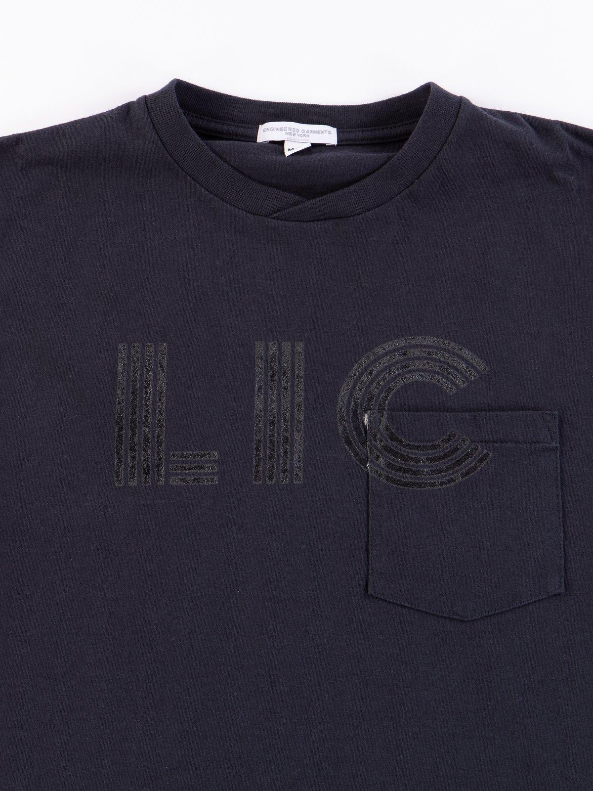 Navy LIC Printed T–Shirt - Image 3