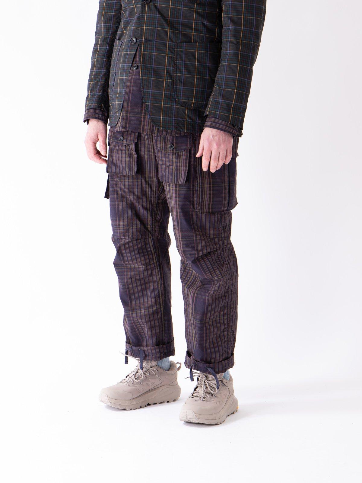 Multi Color Nyco Plaid FA Pant - Image 2