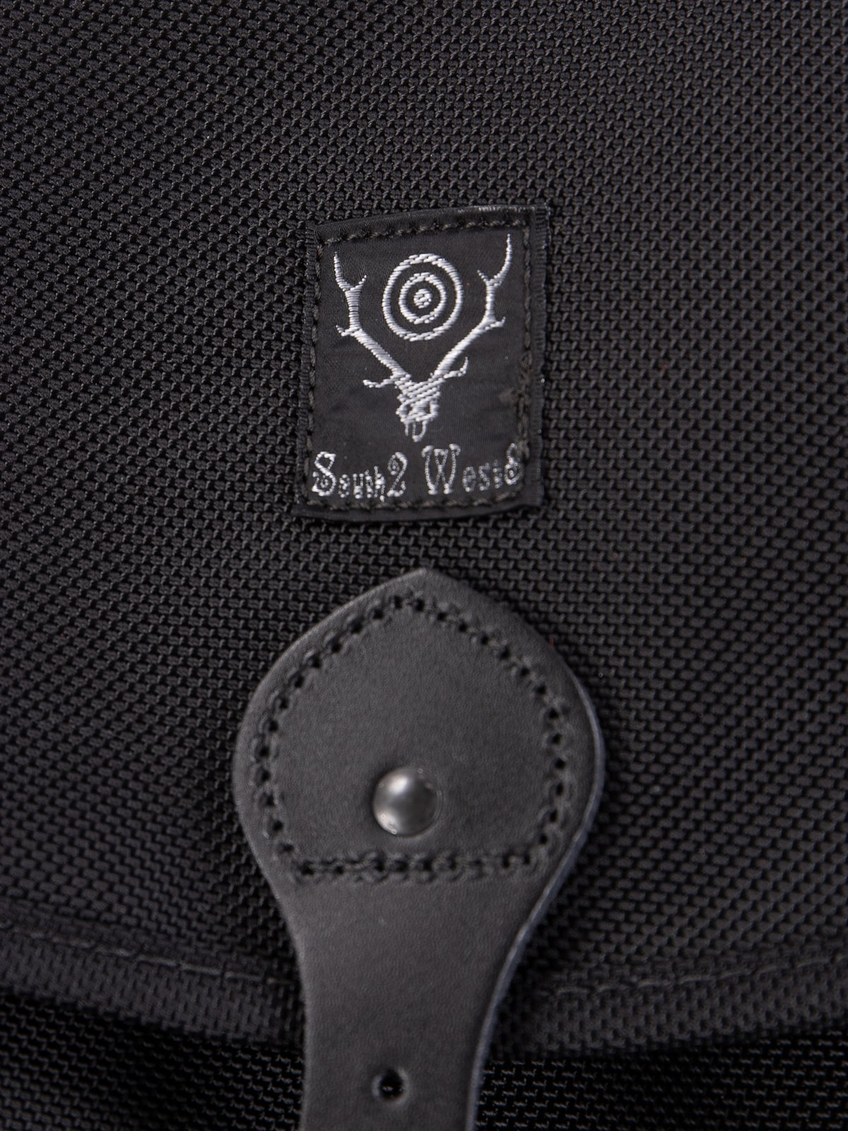 Black Large Ballistic Nylon Binocular Bag - Image 2