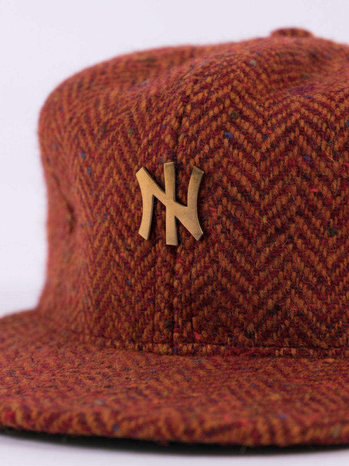 Rust HB Tweed NIer 6 Panel Ballcap - Image 6